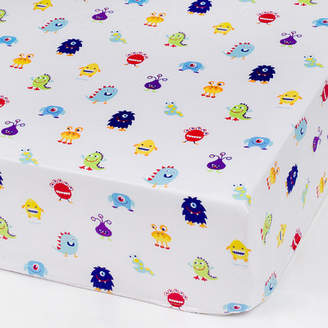 Olive Kids Wildkin Monsters Fitted Crib Sheet