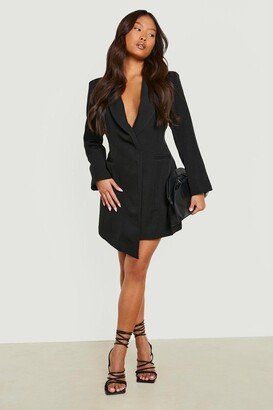 boohoo Petite Asymmetric Blazer Dress