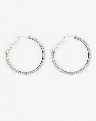 Le Château Gem Hoop Earrings