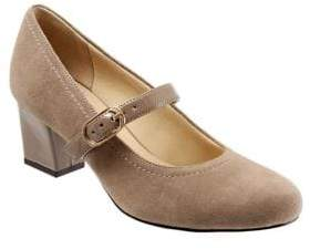 Trotters Candice Suede Mary Jane Pumps