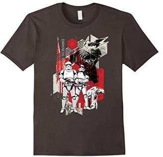 Star Wars Last Jedi Darkness Rises Within Order T-Shirt