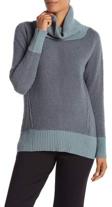 Lafayette 148 New York Relaxed Turtleneck Sweater