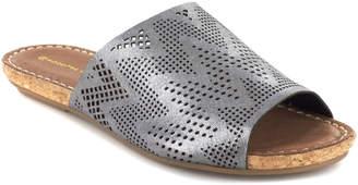 Chocolat Blu Bruno Leather Slide Sandal
