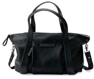 Bugaboo x Storksak Leather Diaper Tote Bag