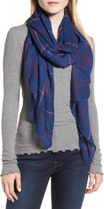Leith Dual Grid Oblong Scarf