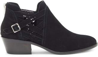 Vince Camuto Pranika Perforated Suede Booties