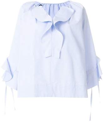Eudon Choi ruffled blouse