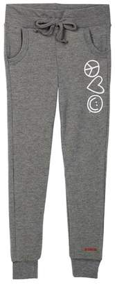 Peace Love World Comfy Pocket Rick Pants (Big Girls)