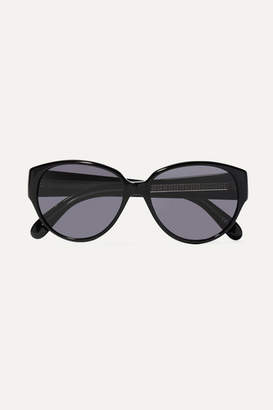 Givenchy Round-frame Acetate Sunglasses - Black
