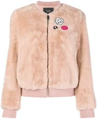 Twin-Set teddy bomber jacket