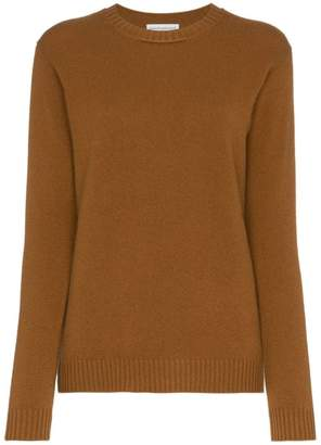 Alexandra Golovanoff regular fit round neck cashmere jumper