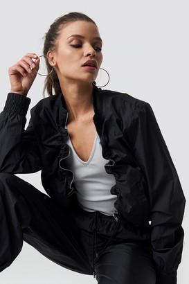 Ivana Santacruz X Na Kd Tracksuit Jacket Black