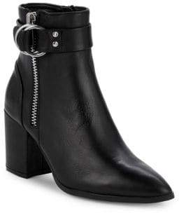 Jeter Leather Ankle Boots