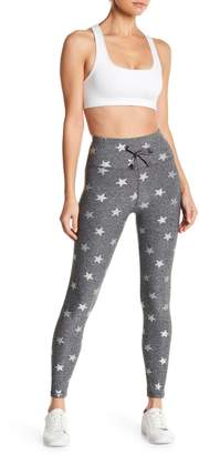 C&C California Metallic Star Print Leggings