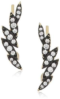 Shashi Zara Climber Earrings