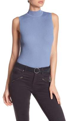 360 Cashmere Georgia Sleeveless Ribbed Knit Top