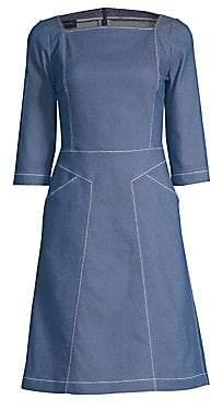 Piazza Sempione Women's Denim A-Line Dress