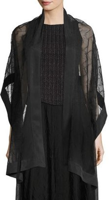 NIC+ZOE Zigzag Tulle Scarf $98 thestylecure.com