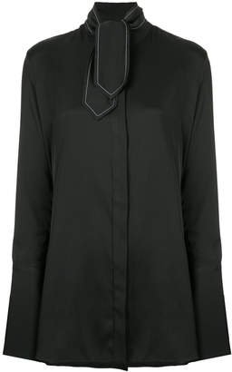 Ellery scarf neck shirt