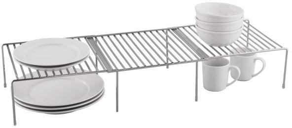 Chrome Cupboard Shelf Bridge