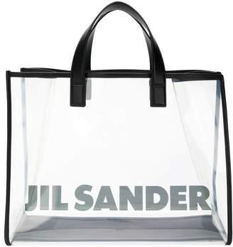 Jil Sander transparent tote bag