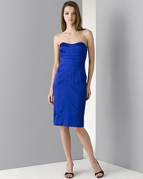 David Meister Women's Sweetheart Neckline Dress