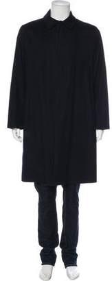 Giorgio Armani Storm System Cashmere Trench Coat