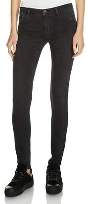Maje Jaw Skinny Jeans in Anthracite