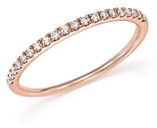 Bloomingdale's Diamond Micro Pavé Band in 14K Rose Gold, .15 ct. t.w.