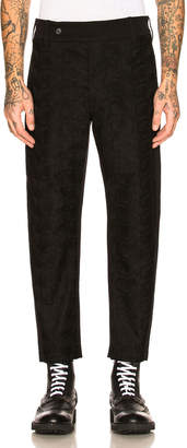 Ann Demeulemeester Flat Front Trousers