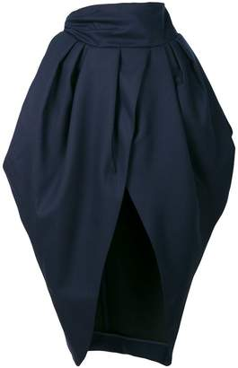 Jacquemus asymmetric front skirt