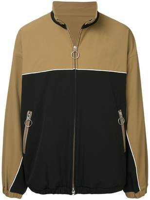 Monkey Time Two-Tone Zipped Jacket