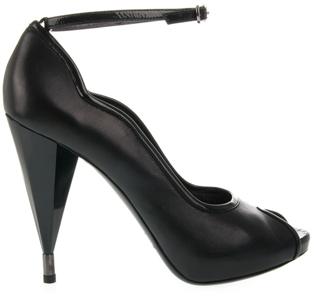 MARC BY MARC JACOBS - Peep toe mirror heel