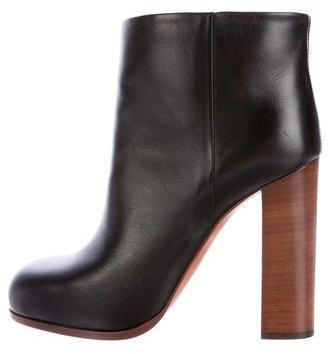 CelineCéline Iconic Leather Ankle Boots
