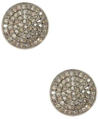 ADORNIA Imogen Champagne Diamond Earrings - 1.00 ctw