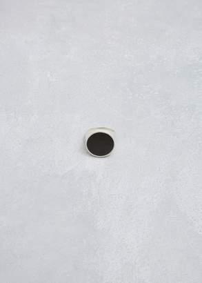 Maison Margiela Round Enamel Ring