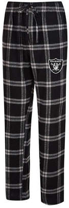 Concepts Sport Men's Oakland Raiders Homestretch Flannel Sleep Pants