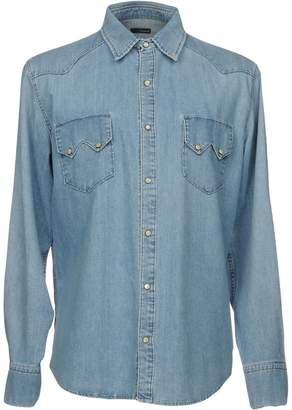 (+) People + PEOPLE Denim shirts - Item 38686941JD