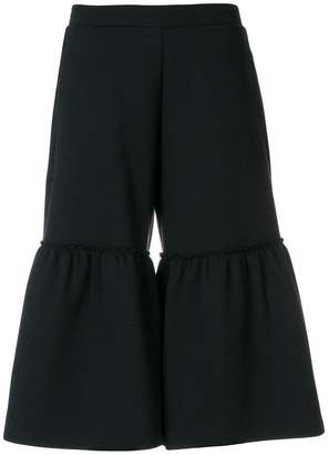 Stella McCartney flared cropped culottes