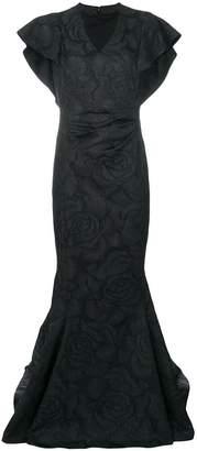 Talbot Runhof norham dress