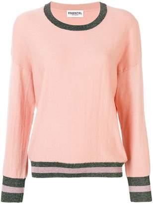 Essentiel Antwerp oversized stripe trim sweater