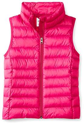 Amazon Essentials Big Girls' Lightweight Water-Resistant Packable Puffer Vest