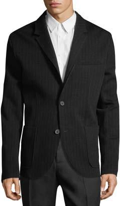 Lanvin Men's Pinstripe Wool Jacket