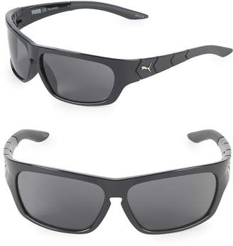 Puma Women's 59MM Wrap Sunglasses