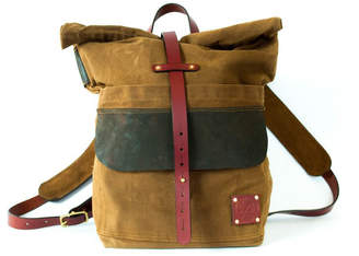 Sturdy Brothers Waxed Canvas Rolltop Backpack