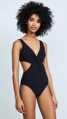Karla Colletto V Neck Underwire Swimsuit