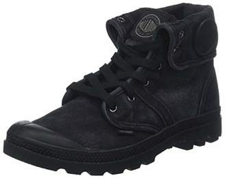Palladium Men's Pallabrouse Baggy Slouch Boots, Black Metal 862