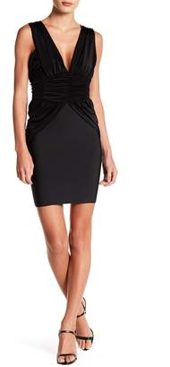 Wow Couture Sleeveless Ruched Dress