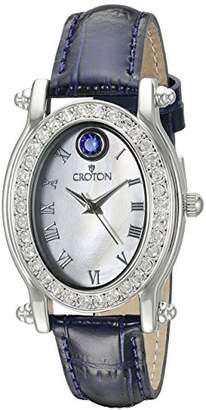 Croton Women's CN207537BLMP Balliamo September Birthstone Analog Display Quartz Blue Watch