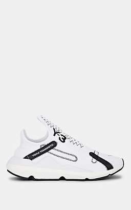 9e1abe2c5 Y-3 Women s Reberu Tech-Knit Sneakers - White